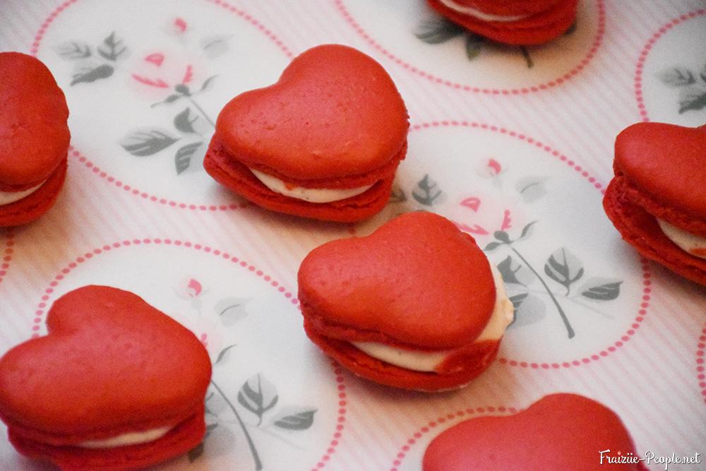 macarons en coeur