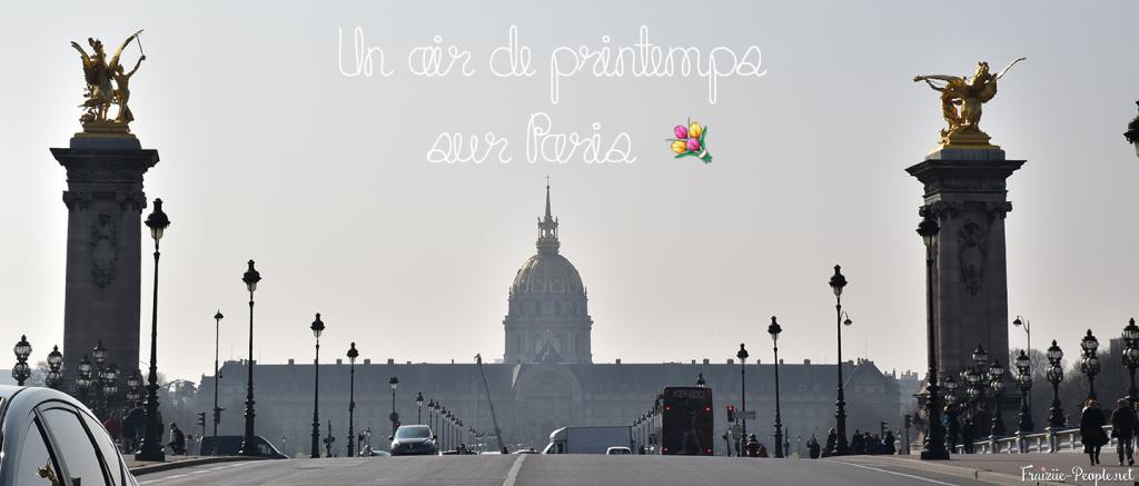 [Lifestyle] Comme un air de printemps sur Paris 💐 ☀️