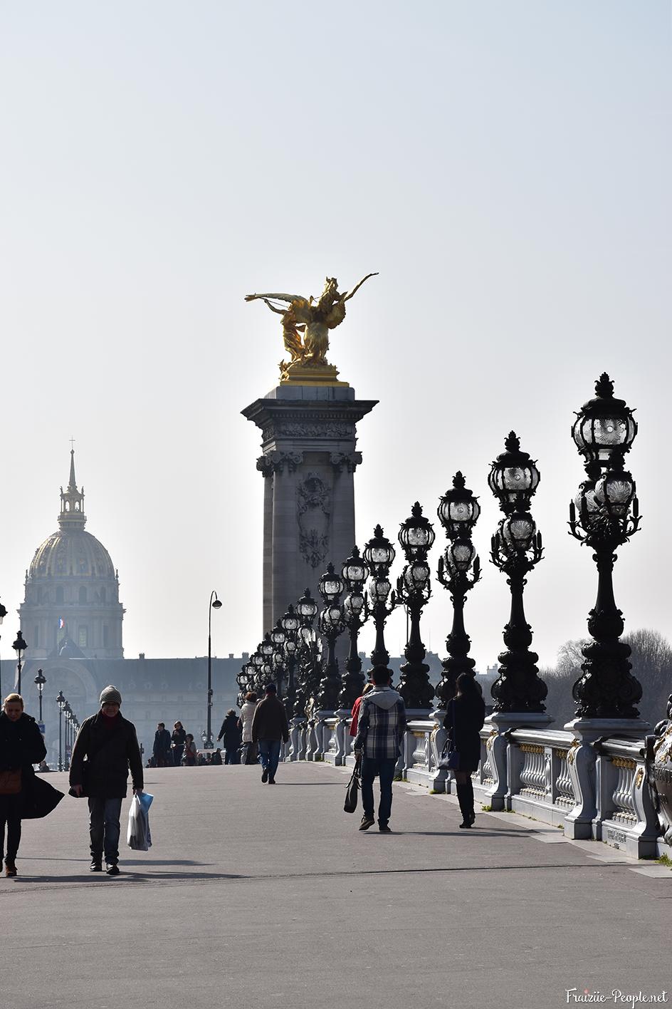 Pont Alexandre III et Les Invalides, Paris