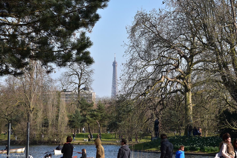 Bois de Boulogne, Tour Eiffel