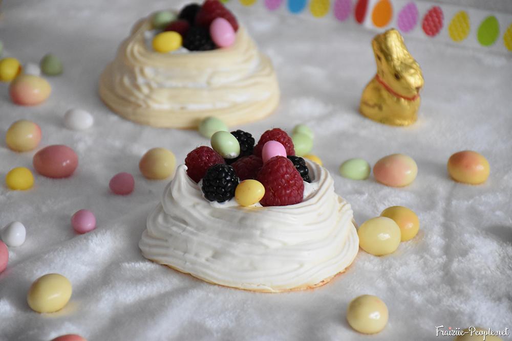 nidmeringue dessert de Pâques