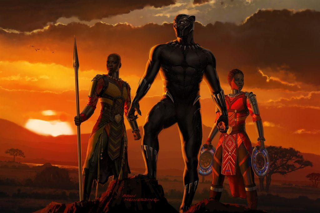 Black Panther & Girls